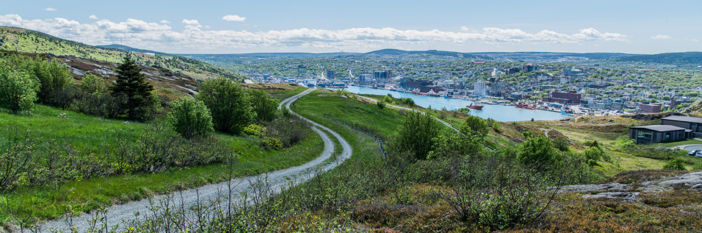 Overlooking St. John's from Signal Hill
