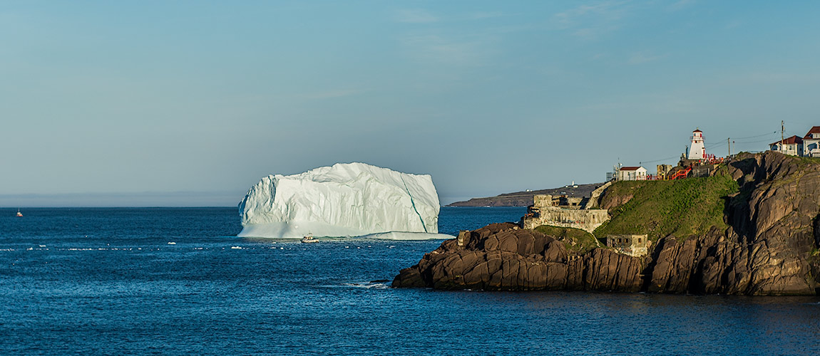 Iceberg at Fort Amherst, St. John's