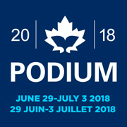 PODIUM-2018 logo with dates only
